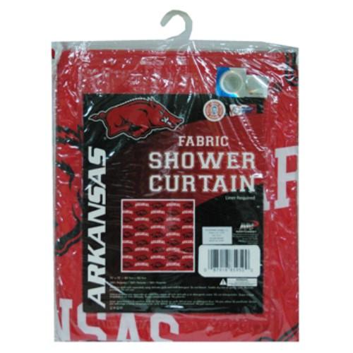 Attirant Arkansas Razorbacks Shower Curtain